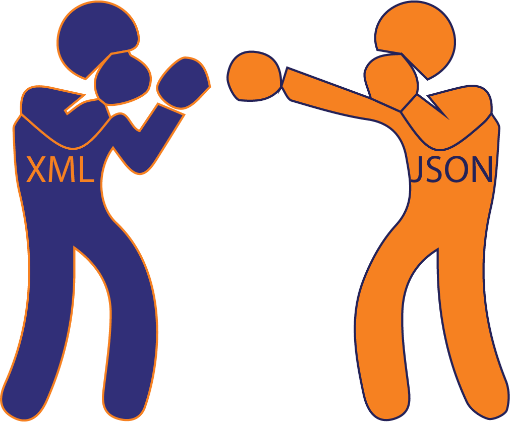 JSON delivers an uppercut to XML